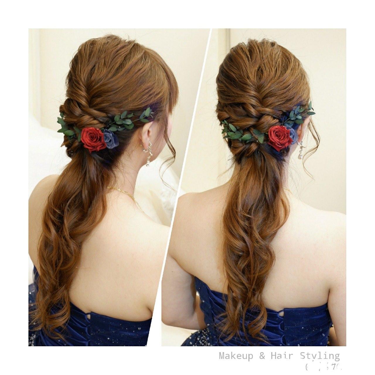 Makeup & Hair Styling  hair