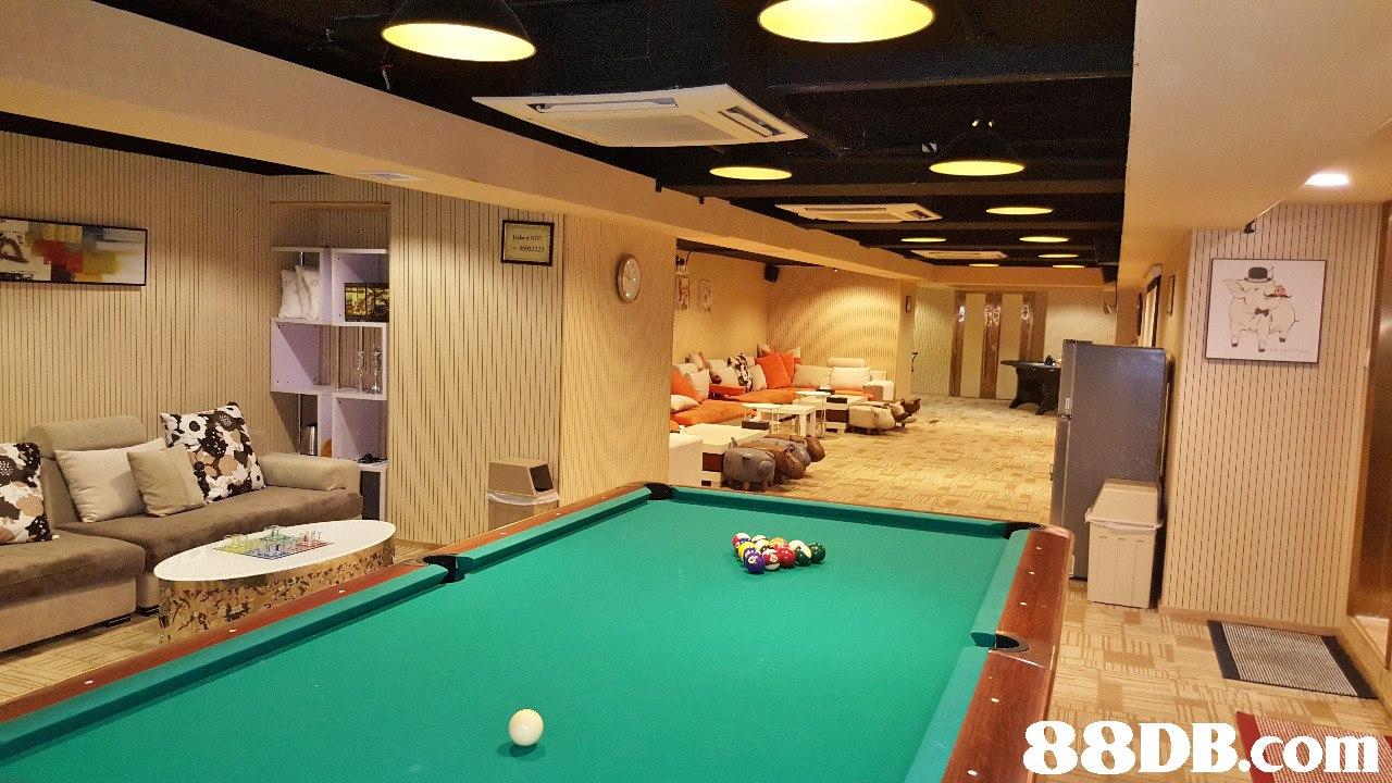 88DB.com  billiard room