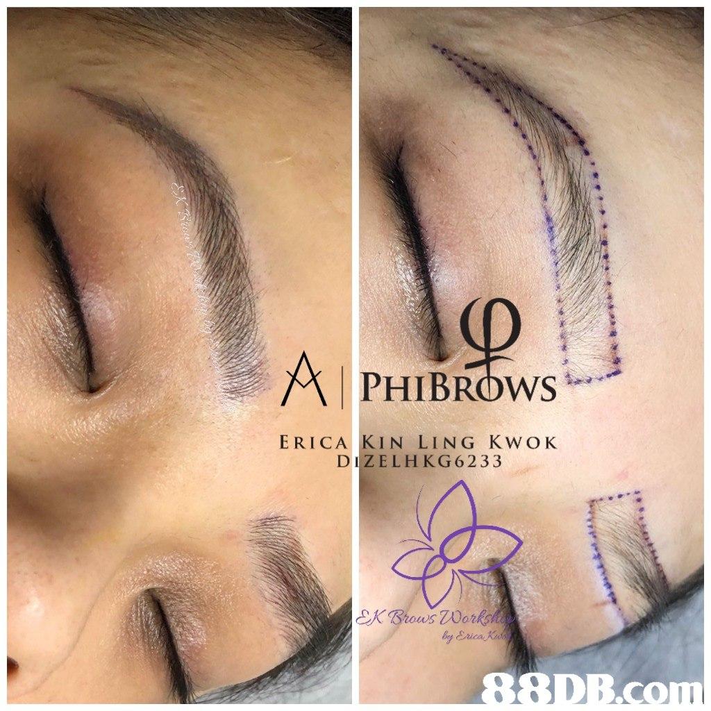 PHIBROws ERICA KIN LING KWOK DIZELHKG6233 by Erica  eyebrow,skin,eyelash,nose,forehead