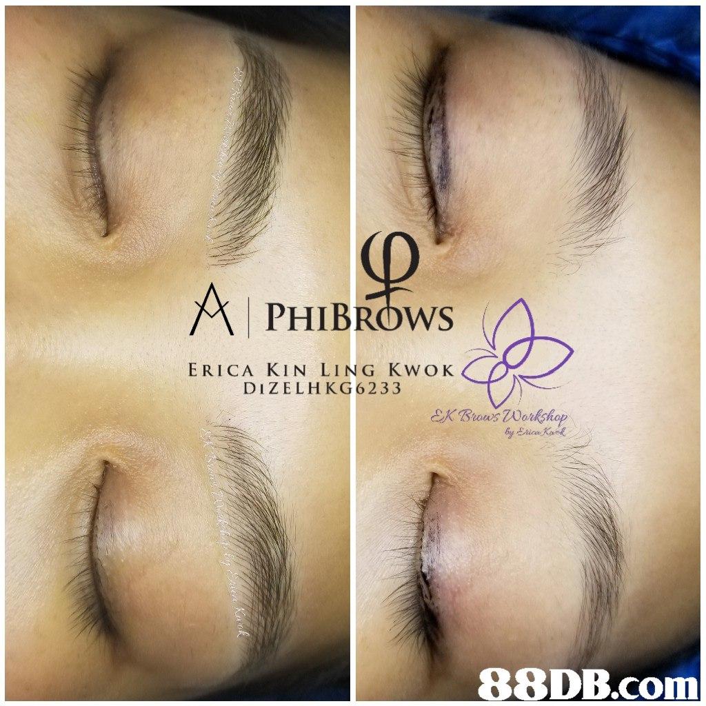PHIBROws ERICA KIN LING KWOK DIZELHKG6233  In  eyebrow,eyelash,nose,forehead,eye