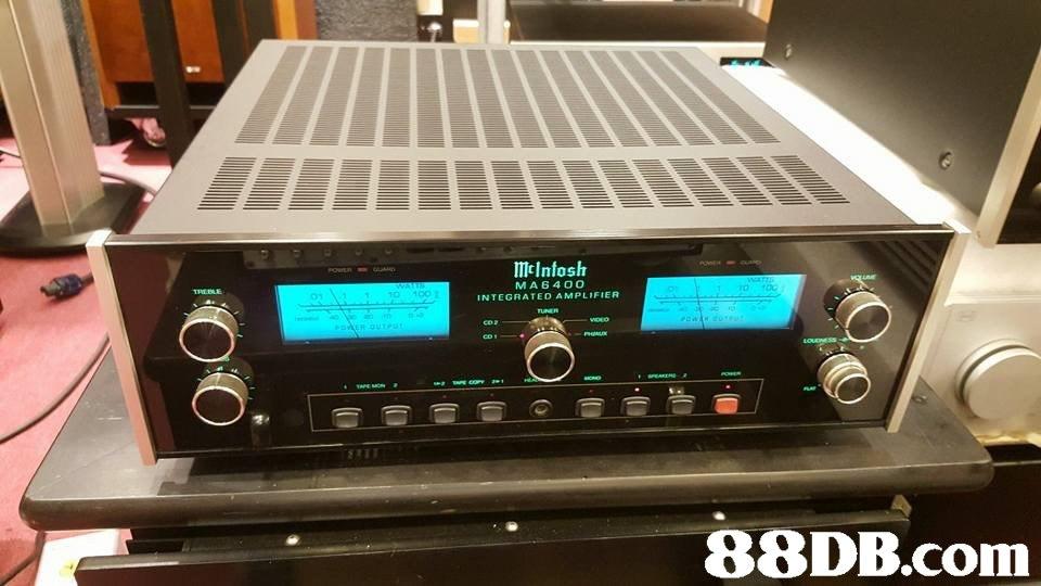 ImcInfosh MA6400 INTEGRATED AMPLIFIER 10 100 88DB.com  technology