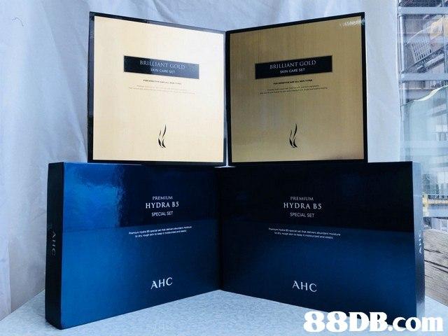 BRILLIANT GOL BRILLIANT GOLD CARE TI HYDRA BS SPECIAL SET PREMIUMM HYDRA BS SPECIAL SET AHC AHC   product,product,