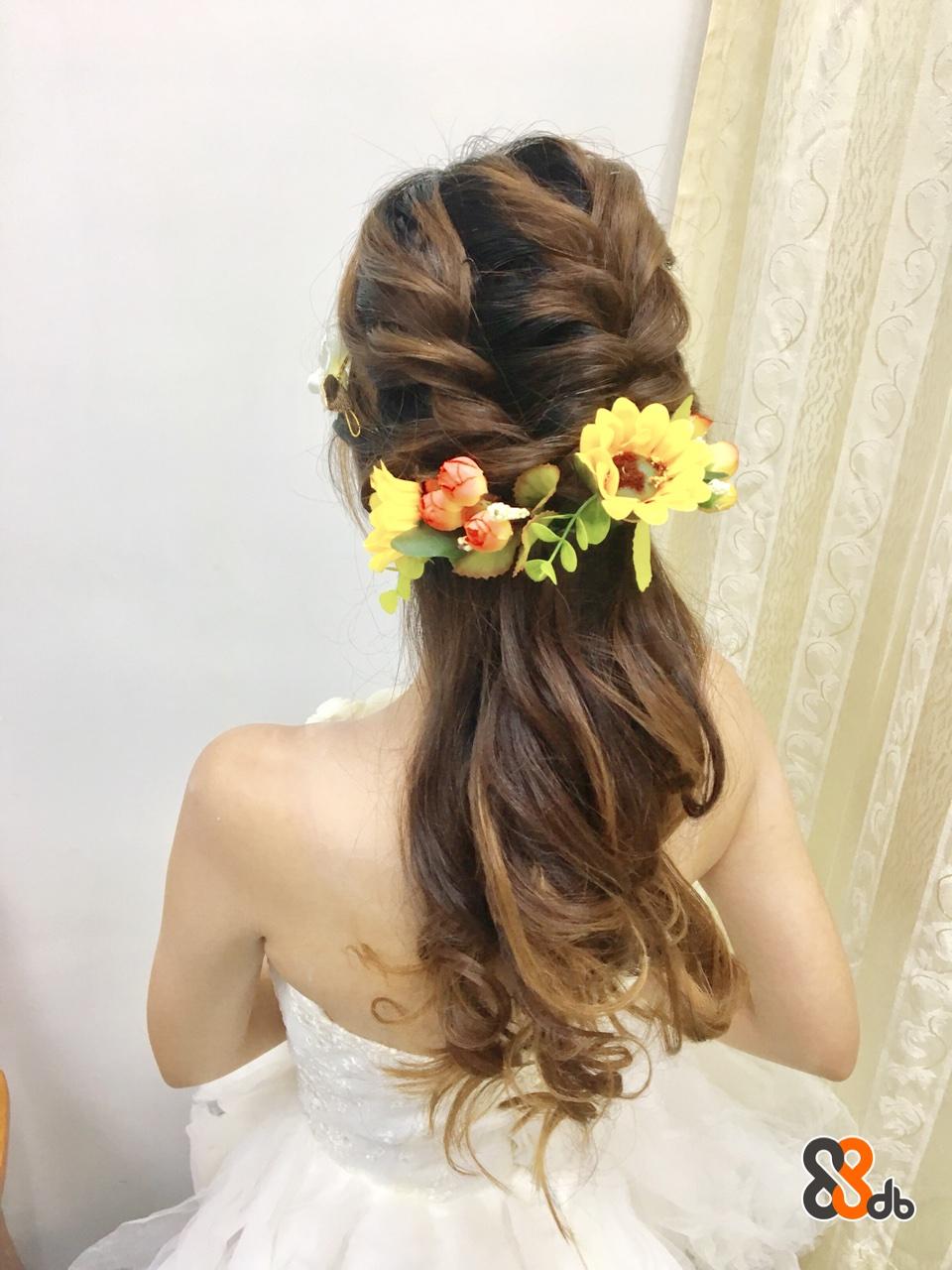 hair,flower,bride,hairstyle,headpiece