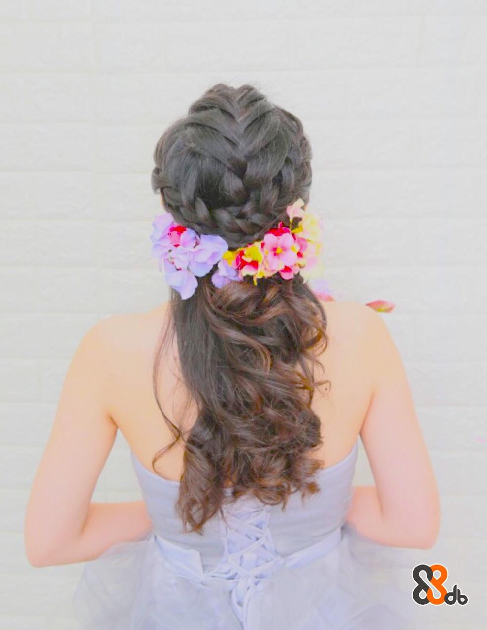 hair,hairstyle,hair accessory,headpiece,flower