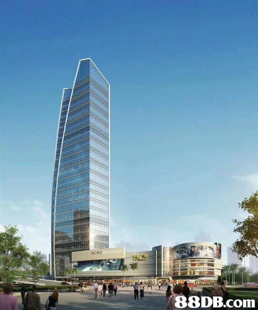 UCLLL BCBG MAXAZRIA   metropolitan area,skyscraper,tower block,condominium,building