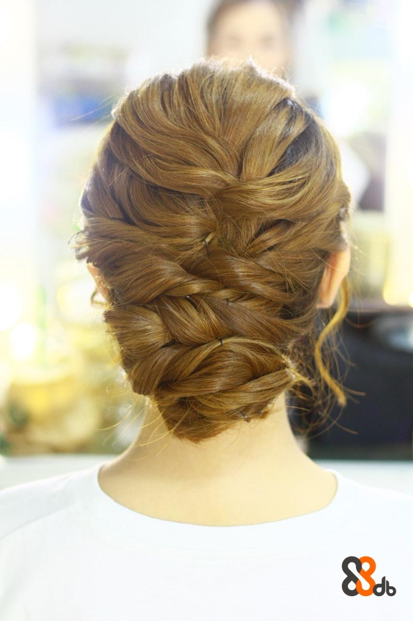 db,hair,hairstyle,french braid,bun,braid