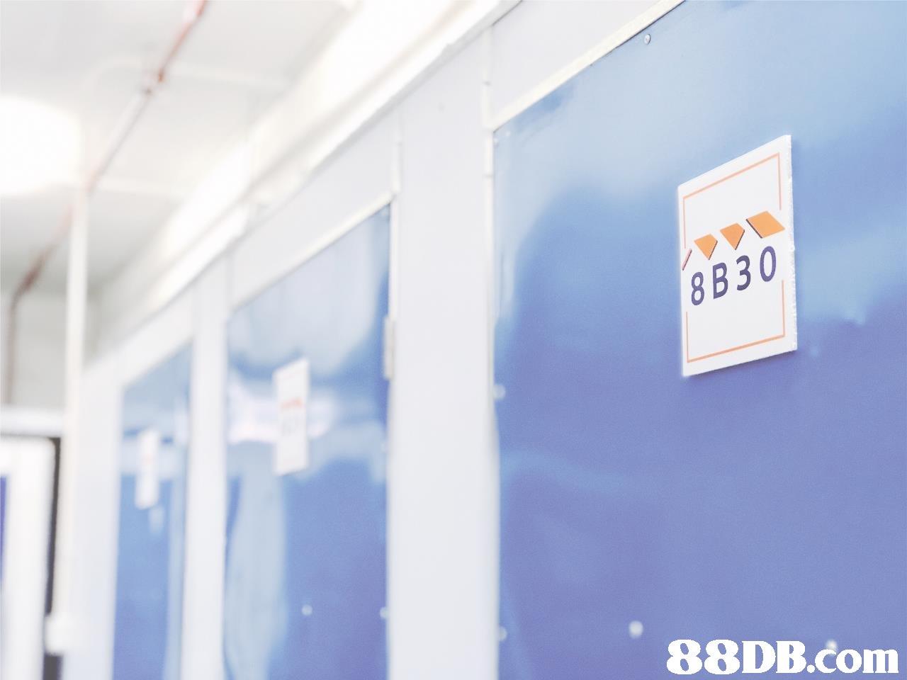 8B30   blue,