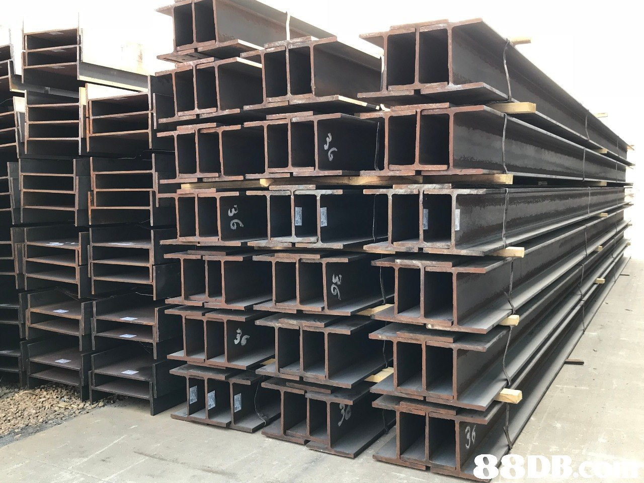 W 36 88DB.a 36 3 6  Beam,Iron,Metal,Steel,Pipe