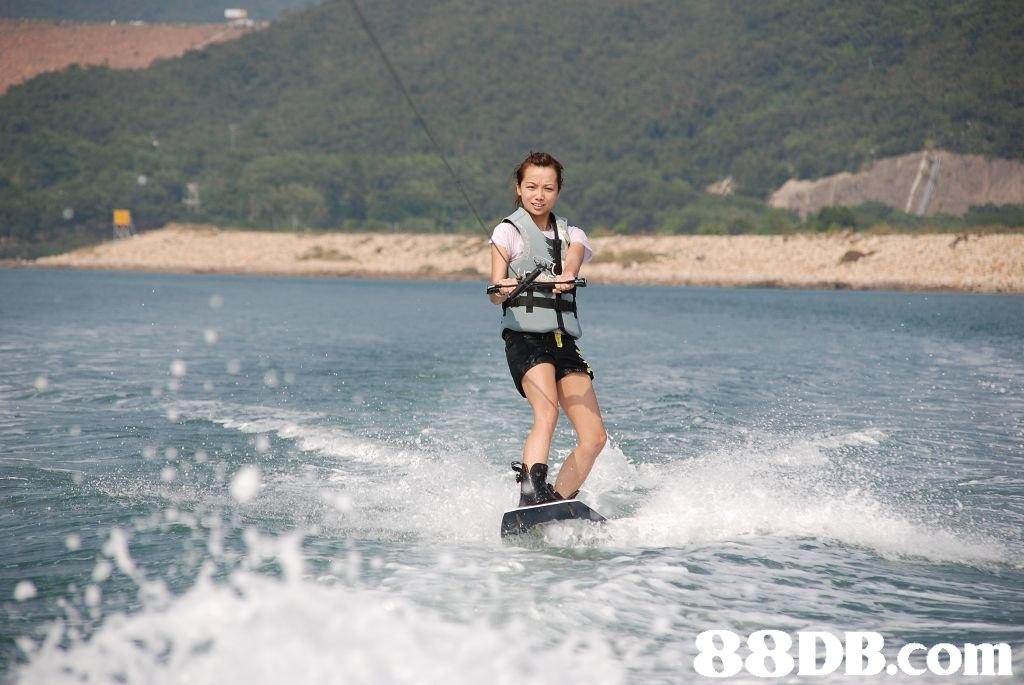 waterskiing,wakeboarding,towed water sport,water,surface water sports