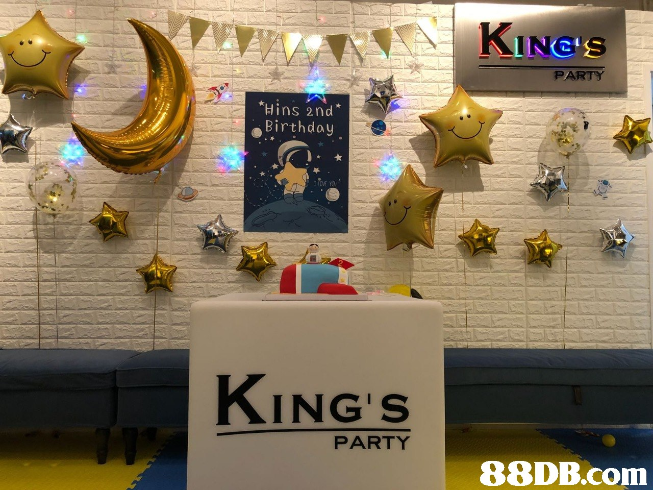 KING'S PARTY Hins 2nd Birthday I LOVE YOU KING'S PARTY   technology,
