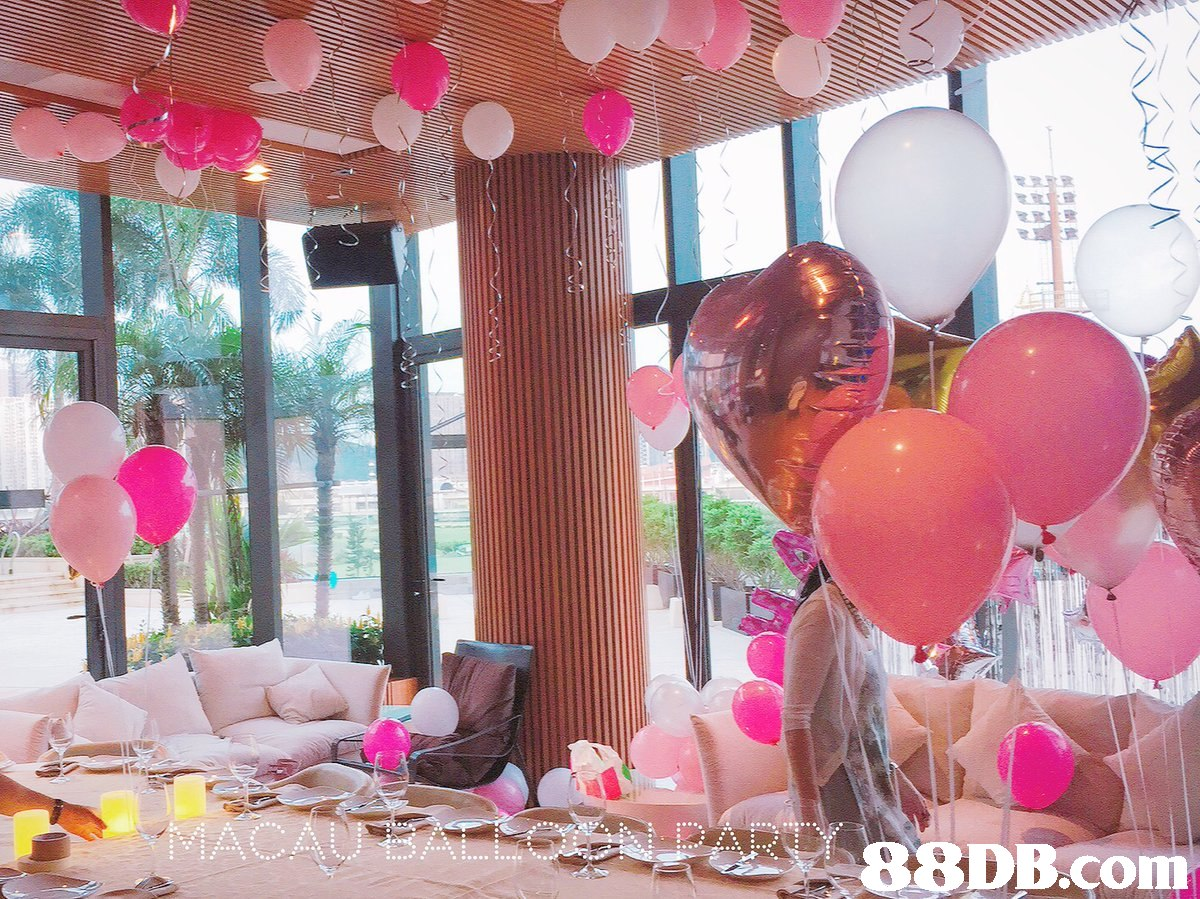 pink,balloon,party,function hall,ceremony