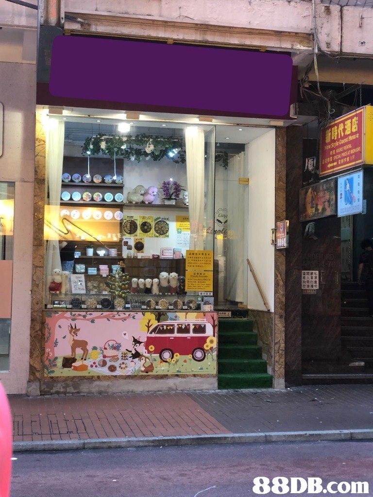 Ling   city,facade,retail,street,