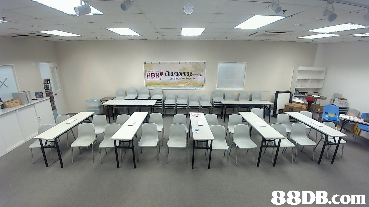 Happy Hour Let's hold on together HBA   room,classroom,table,conference hall,furniture