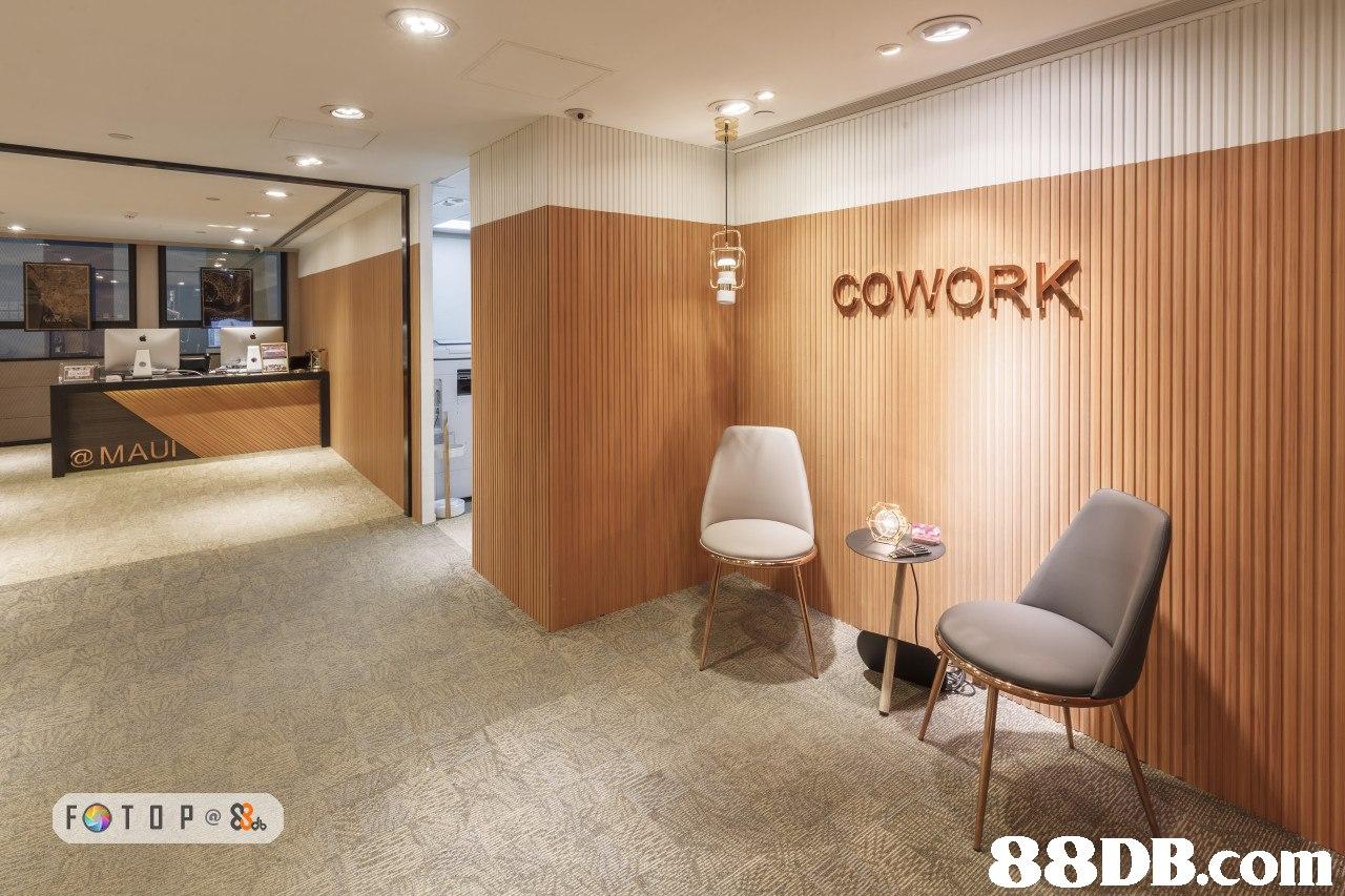 COWORK @MAU 88DB.com  lobby