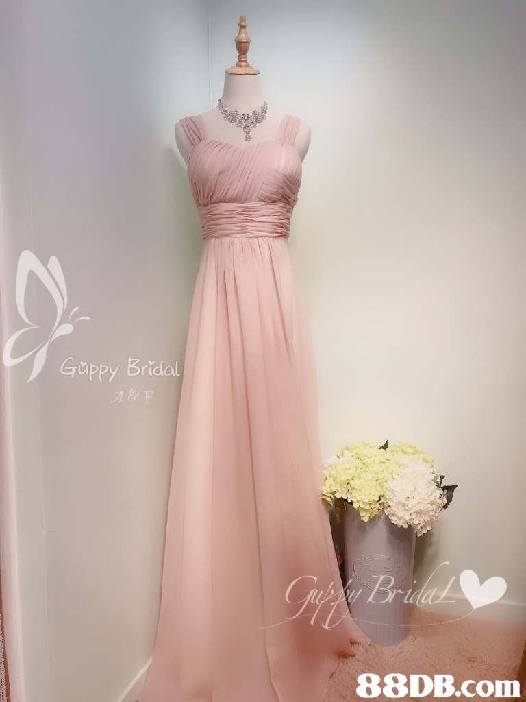 Gippy Bridol   pink,dress,gown,bridal party dress,cocktail dress