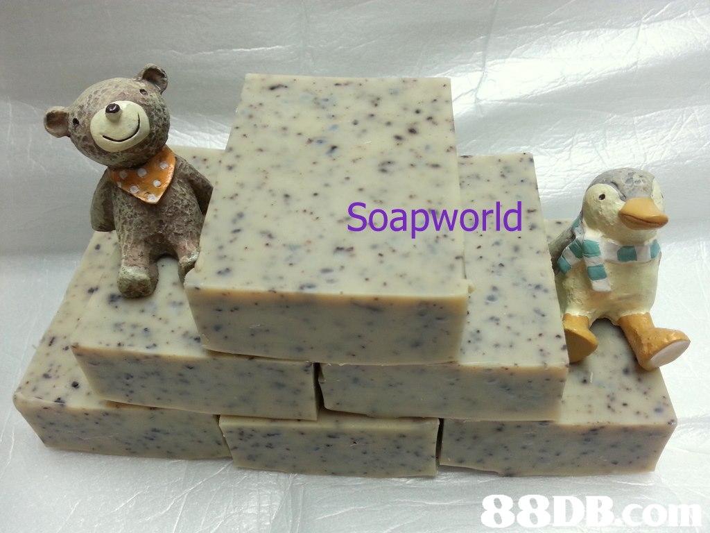 Soapworld: 88D  figurine,material