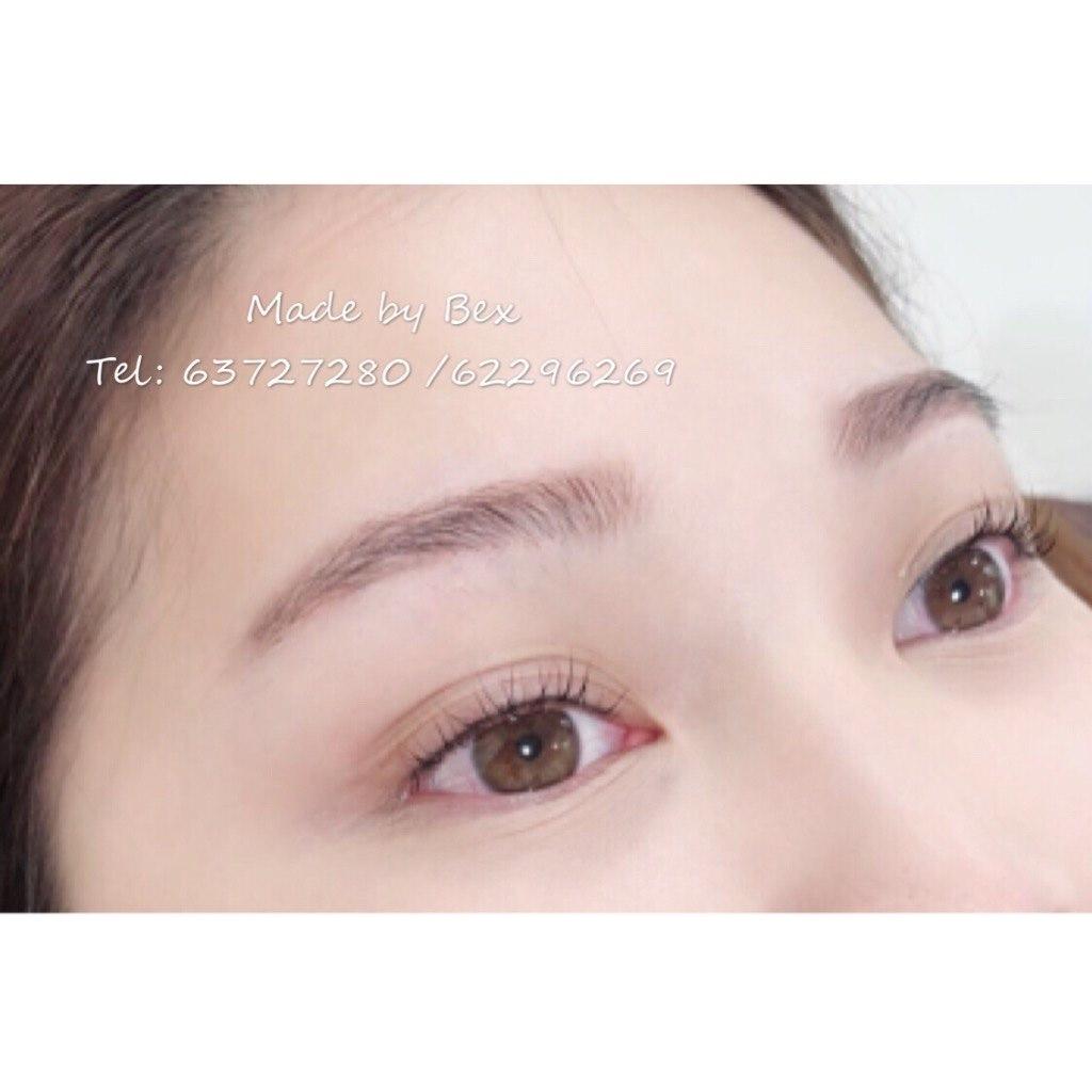 e by Bex Tl: 63727280/622 Mt  eyebrow,eyelash,forehead,cheek,nose