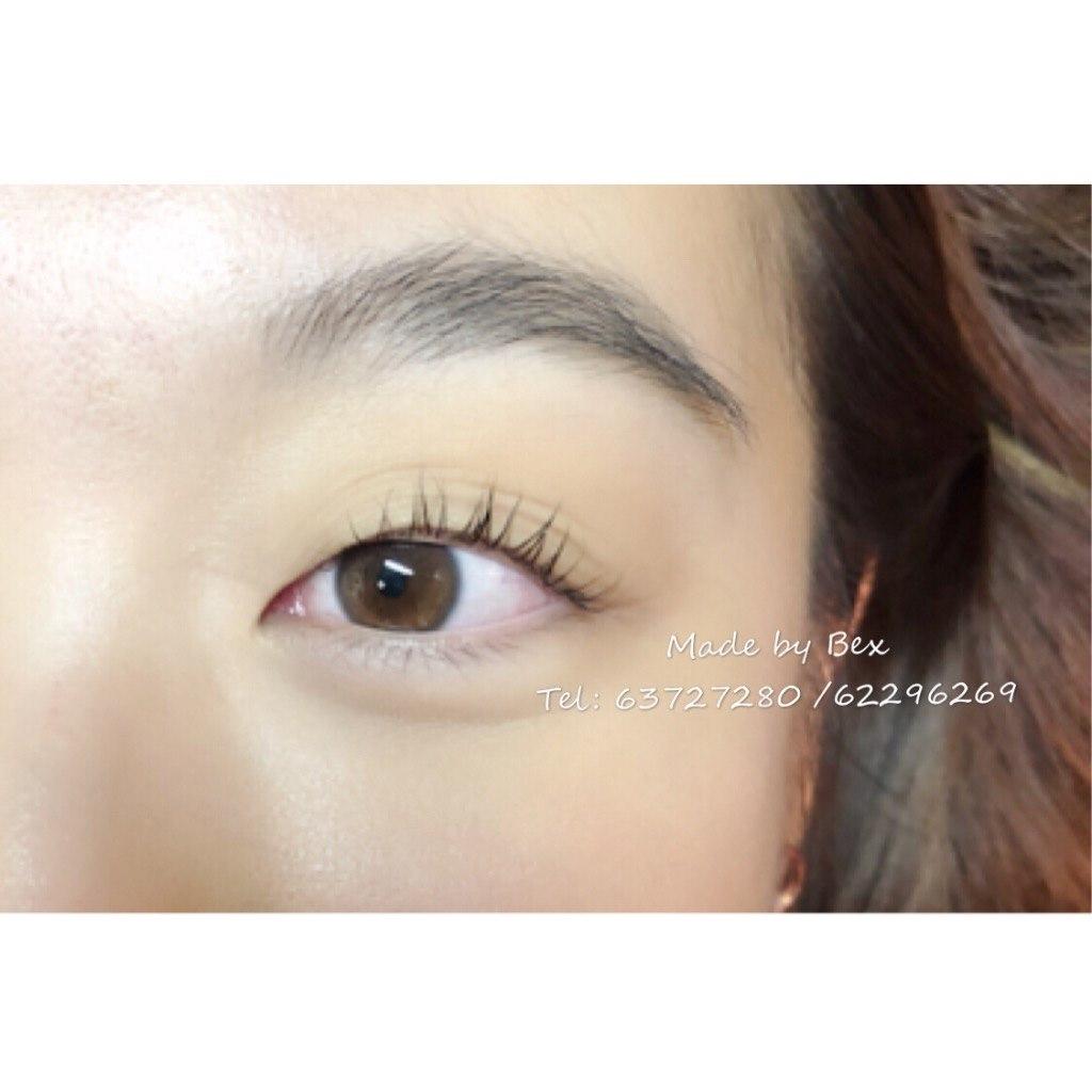 Made by Bex Tel: 63727280 /62296269  eyebrow,eyelash,forehead,cheek,eye