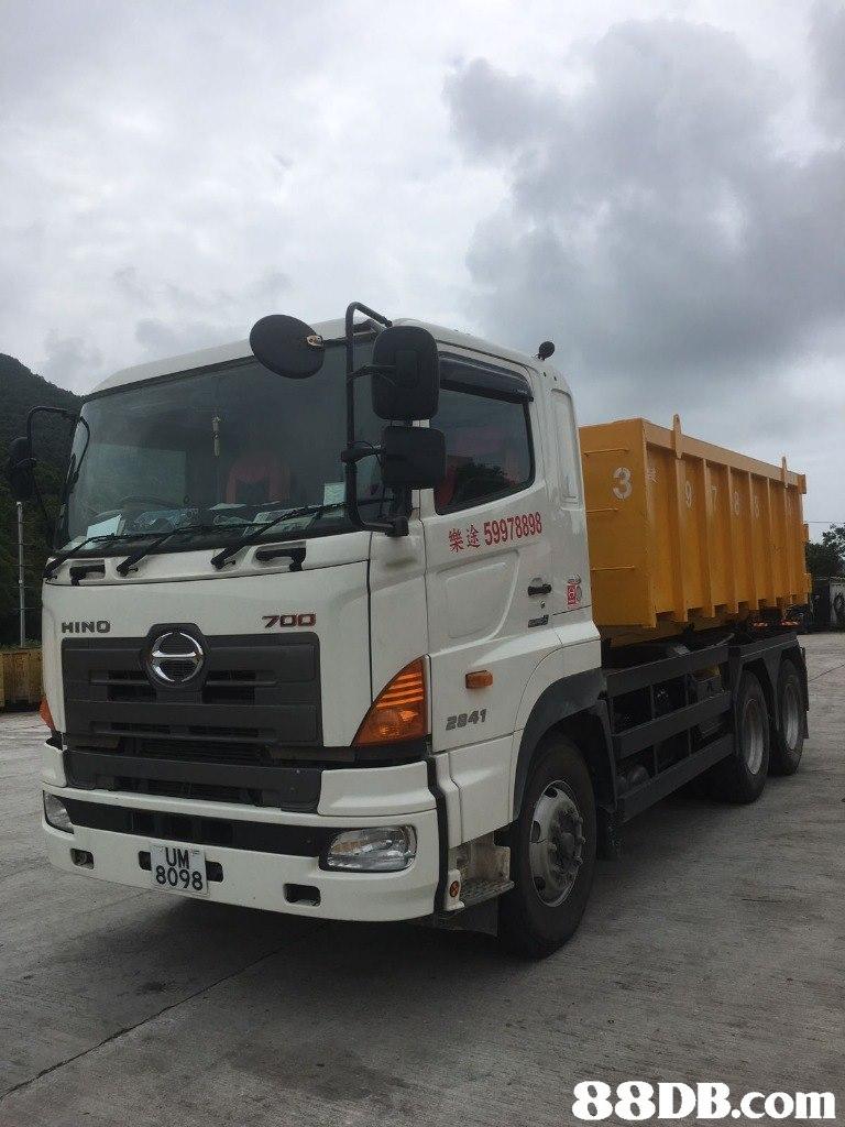 | 樂途59978898 HINO 700 フ 2841 8098   transport,vehicle,motor vehicle,truck,commercial vehicle