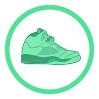 footwear,green,shoe,product,aqua
