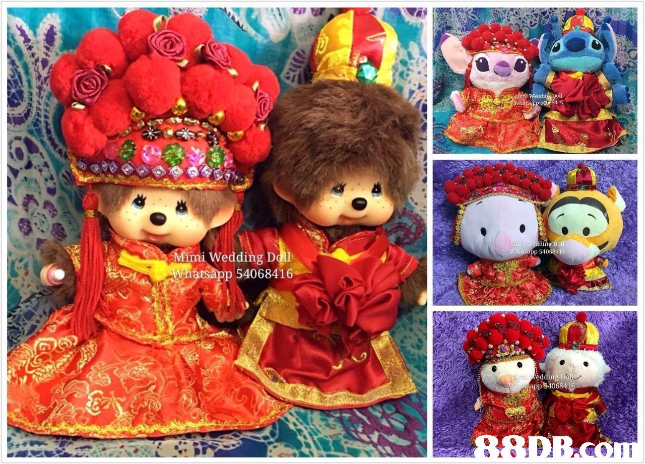 Mimi Wedding D oll tsapp 54068416  doll,stuffed toy,toy,plush,textile