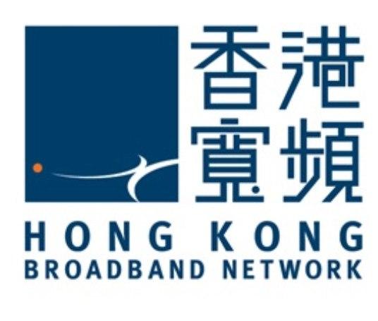 香港 寬頻 HONG K ON G BROADBAND NETWORK  blue