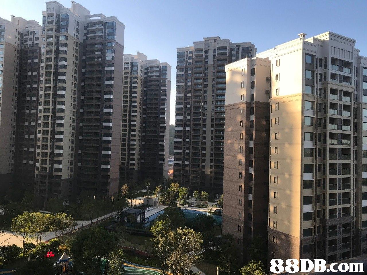 88 DB.com  metropolitan area,condominium,building,tower block,property