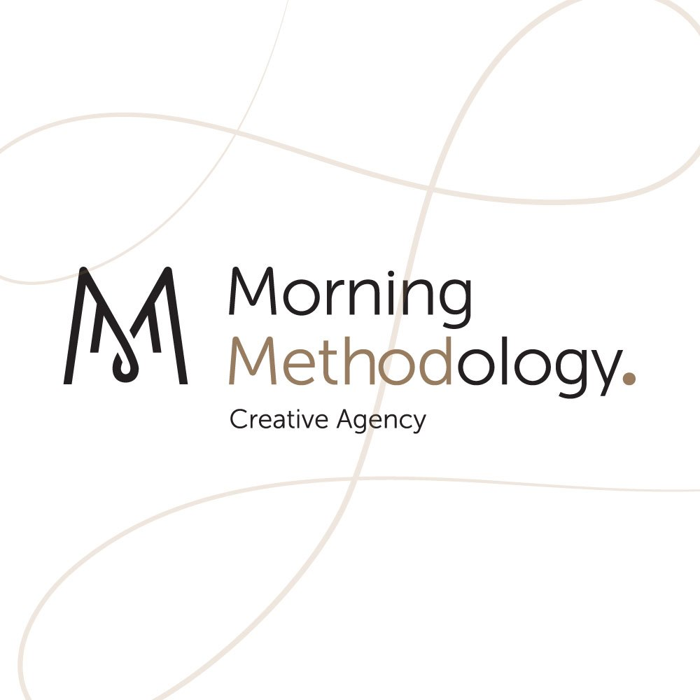 Morning Methodology. Creative Agency  text,font,product,line,logo
