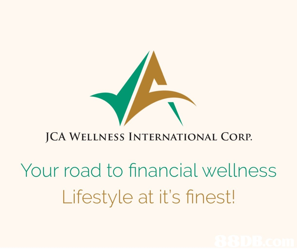 JCA WELLNESS INTERNATIONAL CORP. Your road to financial wellness Lifestyle at it's finest  text