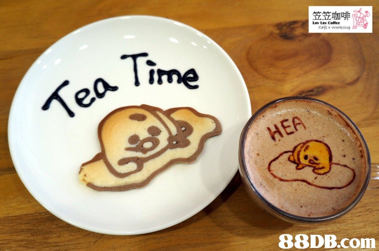 笠笠咖啡 Lov Lev Coffee Time Tea万 88DB.com  dish