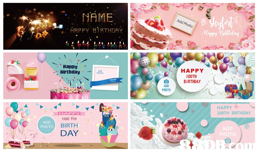 NAME Add Photo , HAPPY BIRTHDAY 、Happy Birthday HAPPY 100TH ADD PHOTO BIRTHDAY .. ADD PHOTO HAPPY 100TH BIRTHDAY HAPPY 100 TH BIRTH DAY ADD PHOTOD ADD PHOTO  text