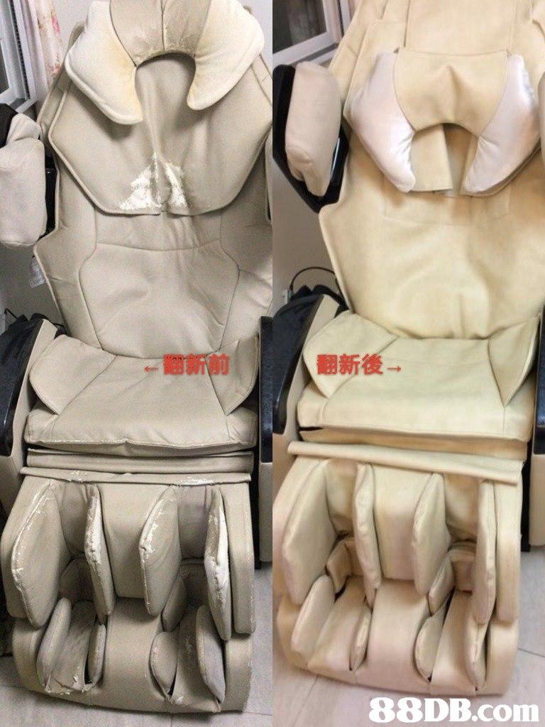翻新前 翻新後 88DB.com  car seat cover