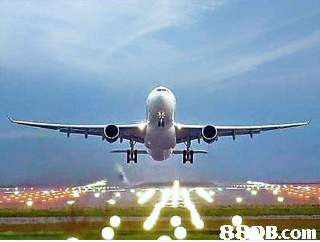 88 B.com  airplane