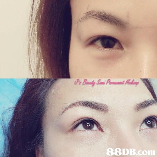 J's Beauty Semi Permanent Makeup 韓式霧眉,飄眉,粉霧眉,眼線,角蛋白