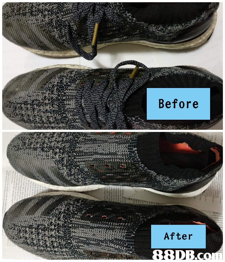Before After  footwear