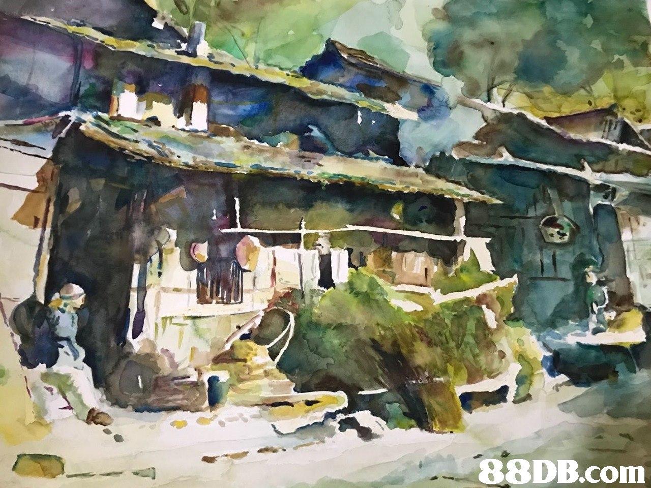 88DB.com  watercolor paint