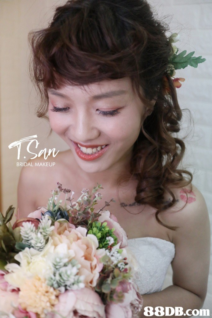 BRIDAL MAKEUP 88DB.com  flower
