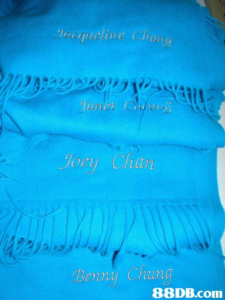 Tacqueline Chan Janet Cuui Joey Chan Benni hun   blue,aqua,turquoise,text,turquoise