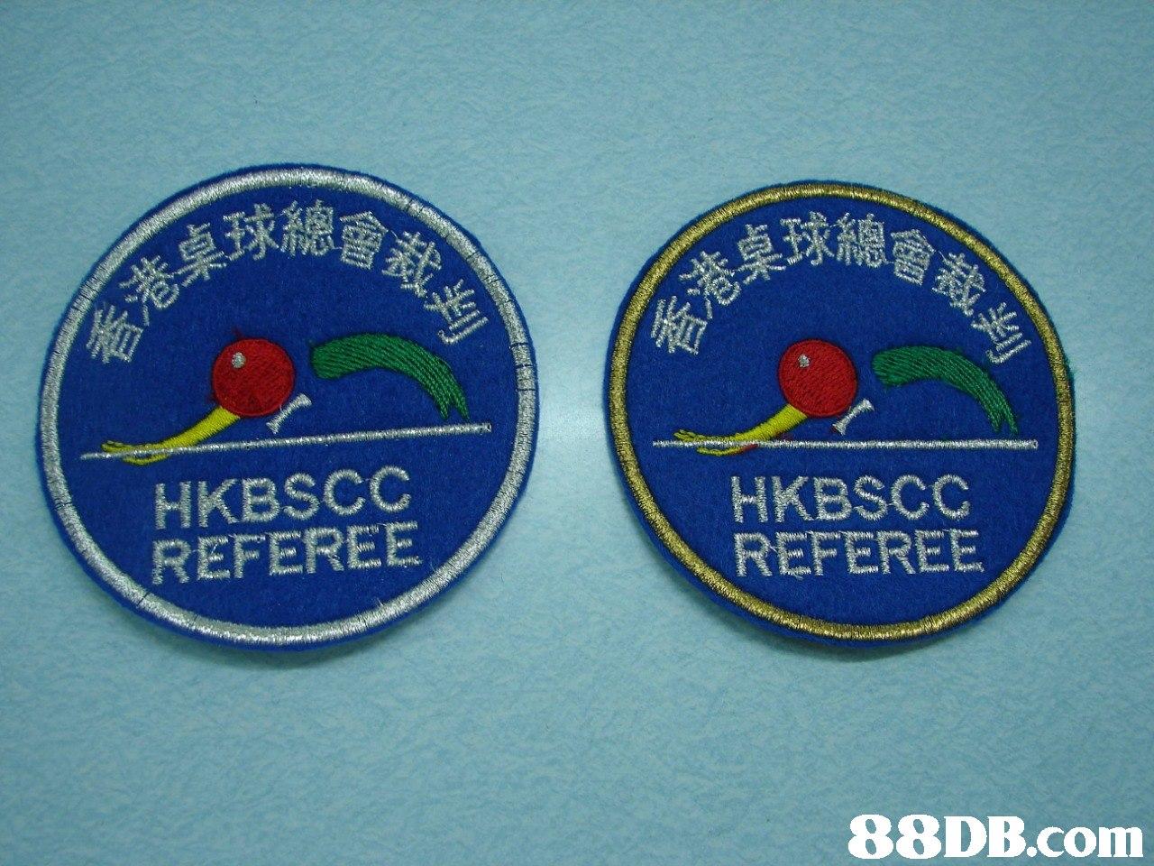 總會 桌球總 HKBSCC REFEREE HKBSCC REFEREE   label,badge,