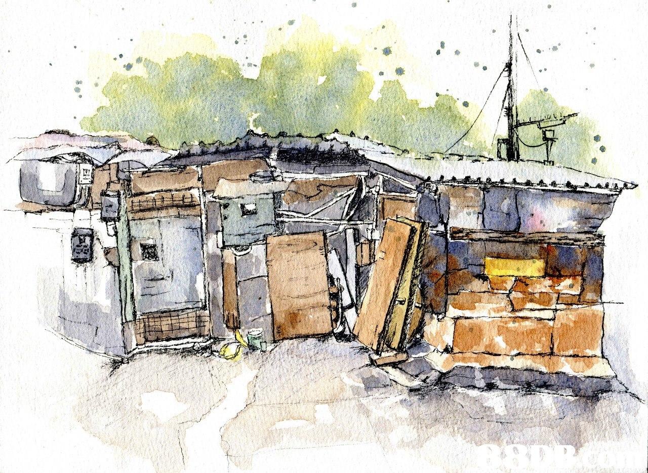 watercolor paint,shack,paint,home,sketch
