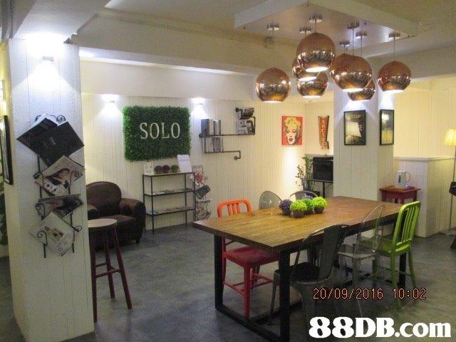 SOLO 20/09/2016 10: 02   property,room,interior design,real estate,table