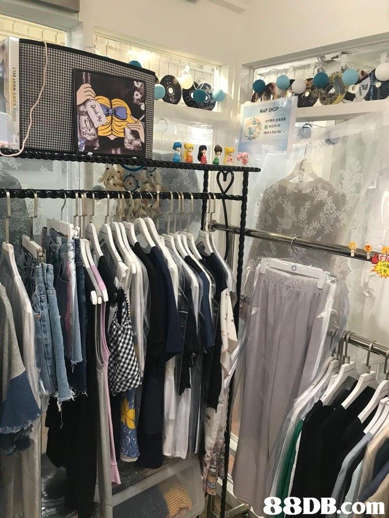 MAP SHOP 8 550917   boutique,room,retail,closet,