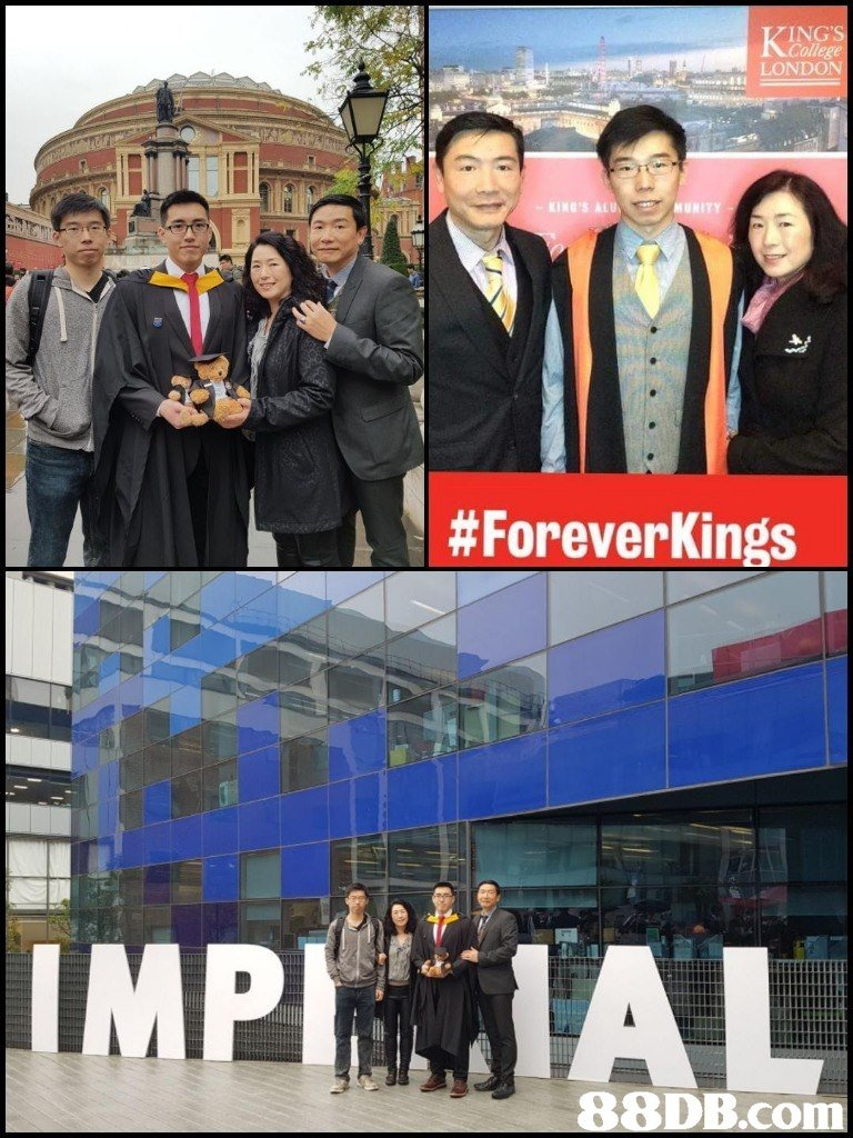 ING'S College LONDON #ForeverKings IMPIAL 88D  suit