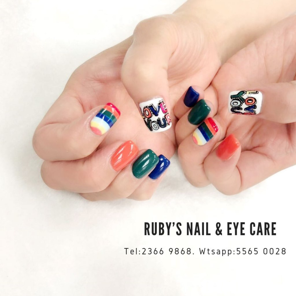 RUBY'S NAIL&EYE CARE Tel:2366 9868. Wtsapp:5565 0028,nail,finger,hand,nail care,manicure