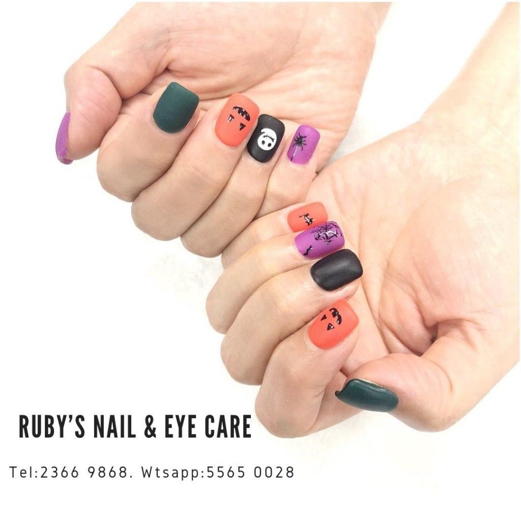RUBY'S NAIL & EYE CARE Tel: 2366 9868. Wtsapp:5565 0028,finger,nail,hand,nail care,manicure
