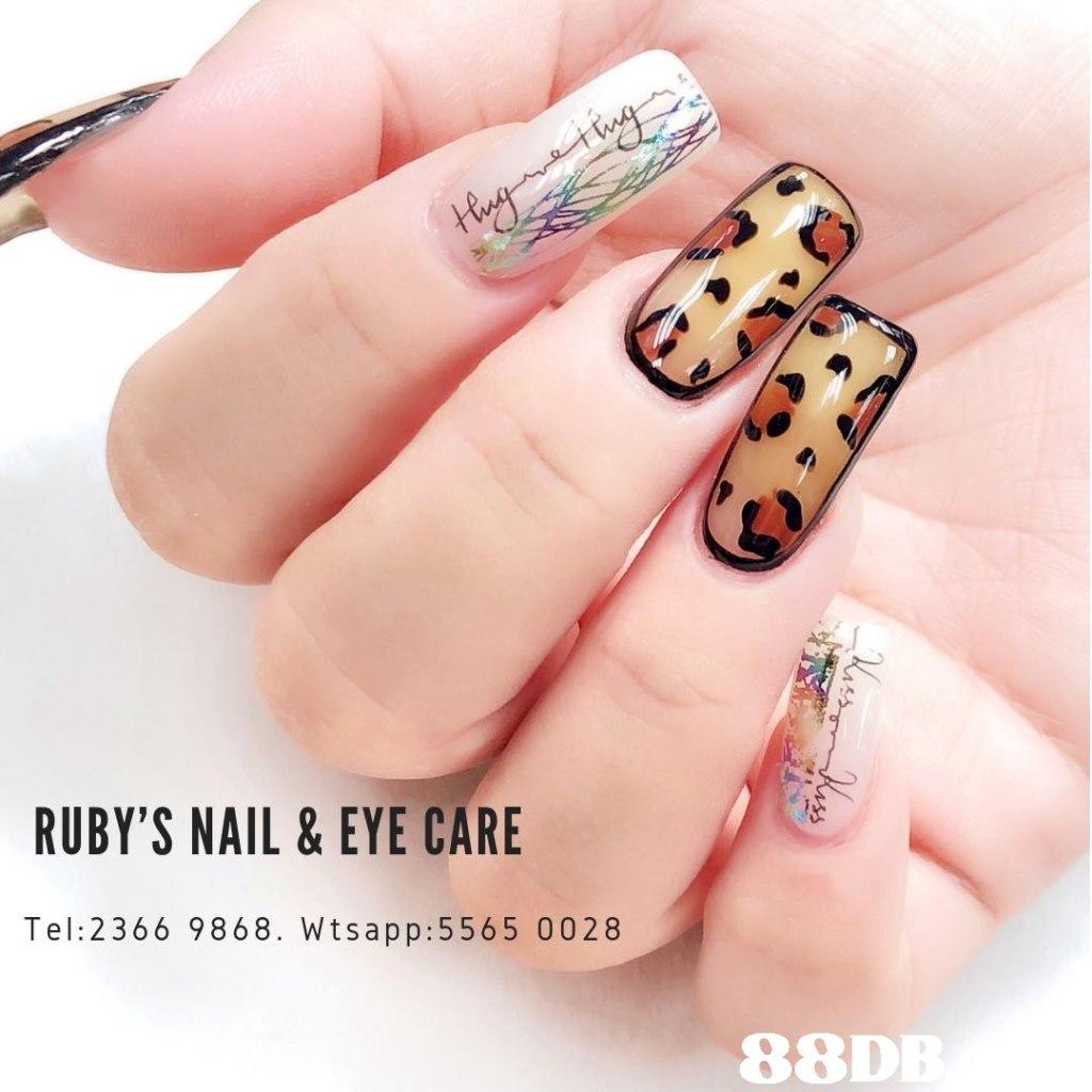 RUBY'S NAIL & EYE CARE Tel: 2366 9868. Wtsapp:5565 0028 88D,finger,nail,hand,nail care,manicure