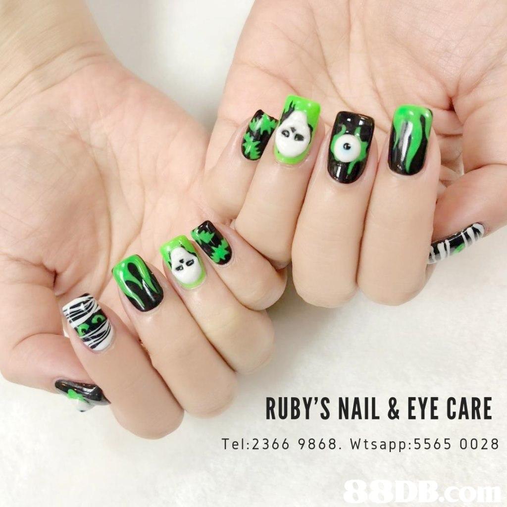 RUBY'S NAIL & EYE CARE Tel: 2366 9868. Wtsapp:5565 0028,nail,finger,hand,nail care,manicure