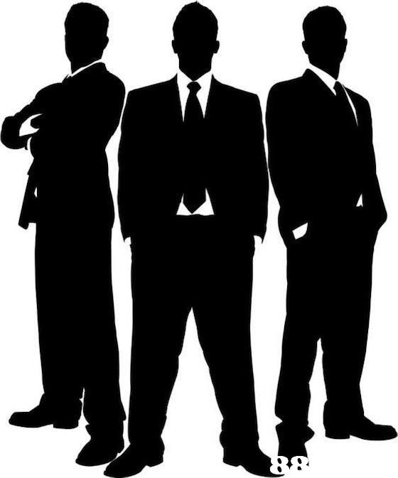 standing,man,social group,silhouette,suit