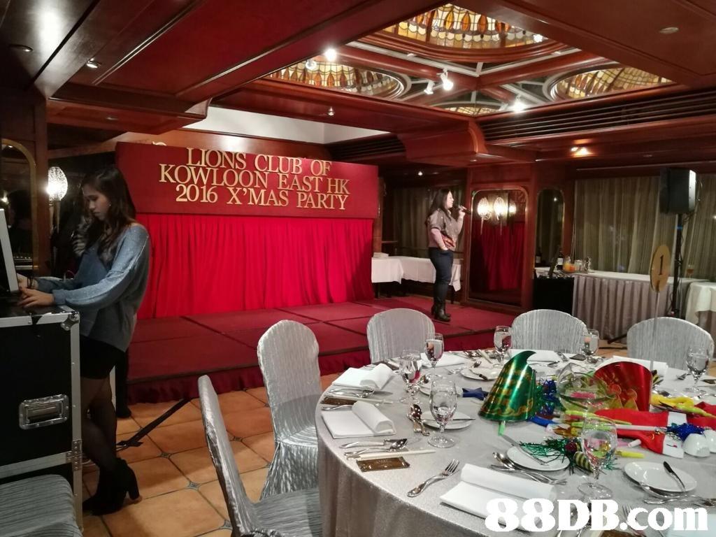 CL 16 X'MAS PARTY KOWLOON EAST HK 8DB.com  function hall,restaurant,