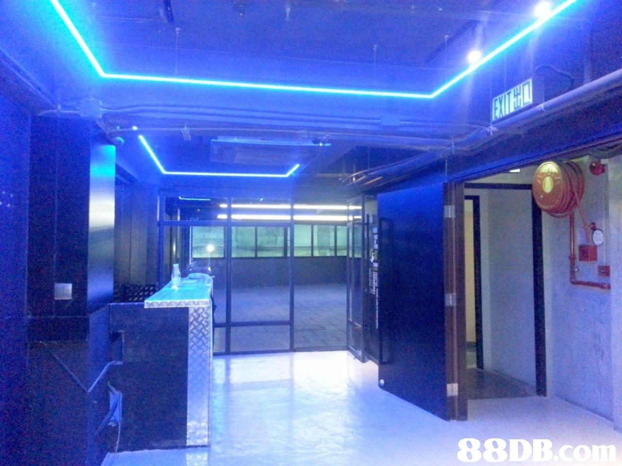 88DB  blue,property,light,lighting,ceiling